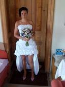 Svatební šaty vel 38, 38