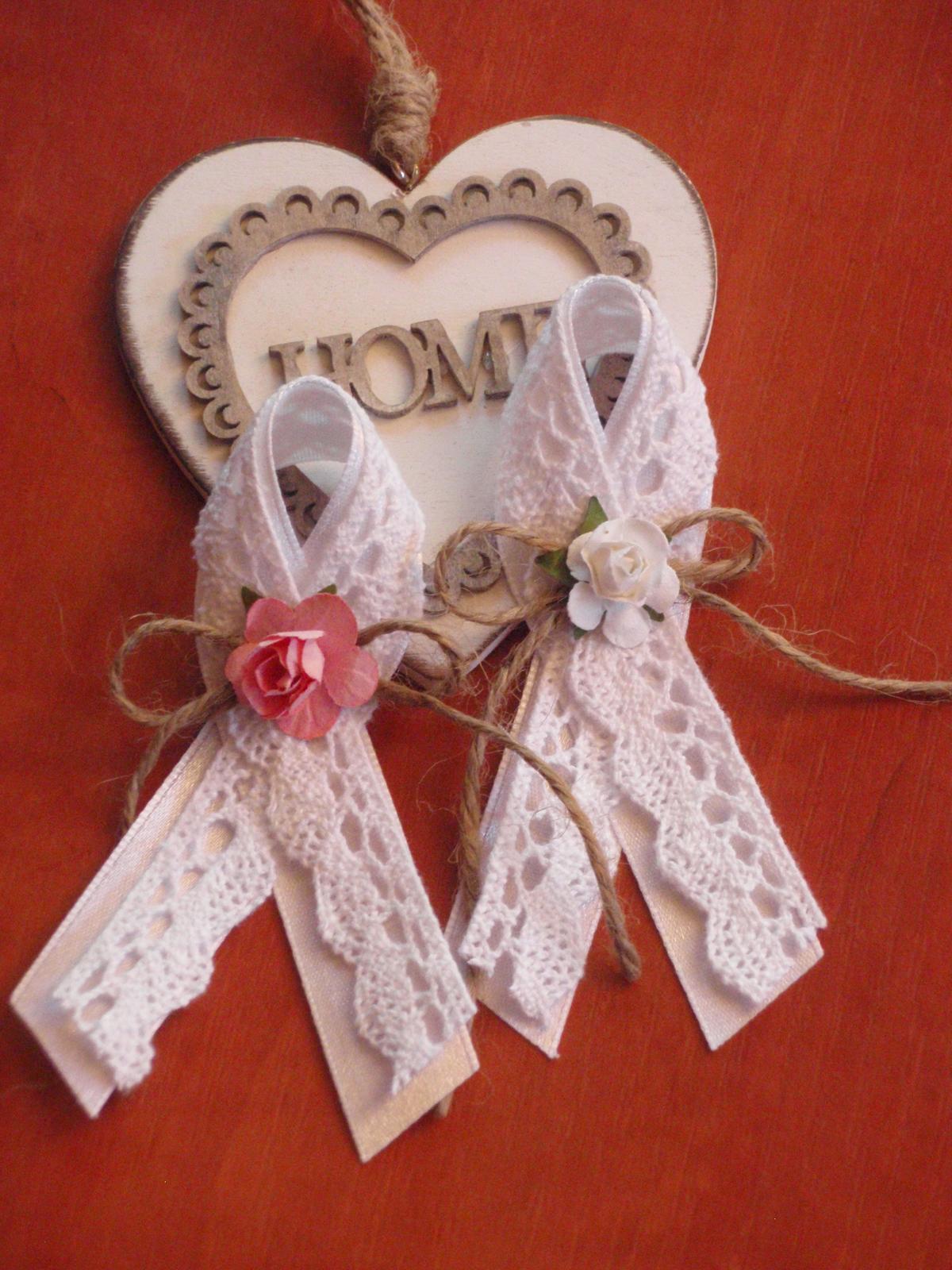 16. Vintage pierka s krajkou a ružou - Obrázok č. 2