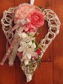 Srdce ružovo cyklamenové,