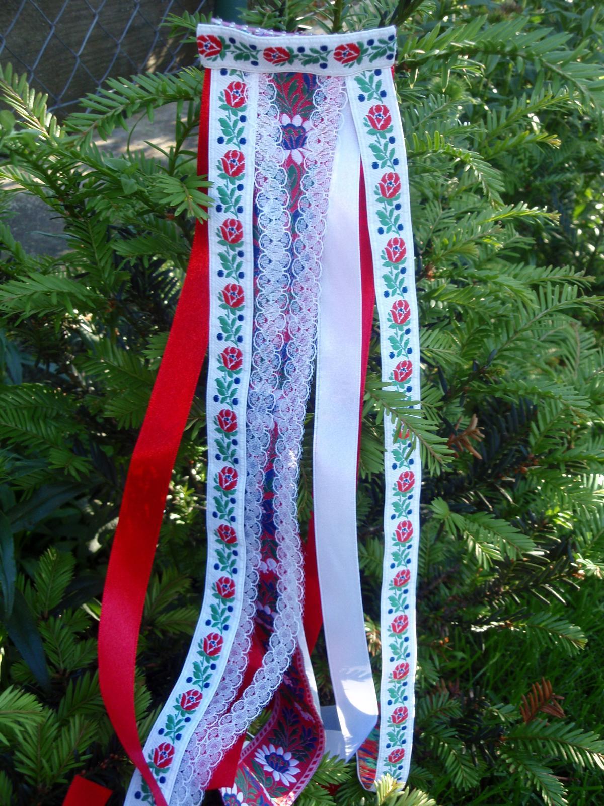 194. Folklórny hrebienok 50cm - Obrázok č. 1