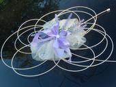 Svatební dekorace,výzdoba na auto PROVANCE,