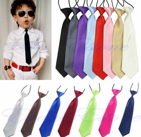 Dětská kravata v různých barvách - Obrázek č. 2