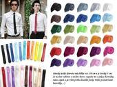 SLIM pánská kravata saténová,