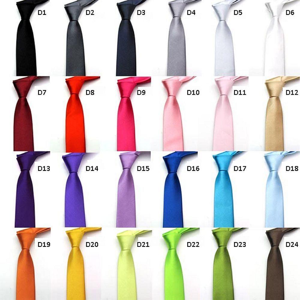 Pánská úzká  slim kravata  - Obrázek č. 1