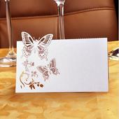 Svatební jmenovka na Váš slavnostní stůl,