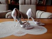 Svatební sandálky, 36