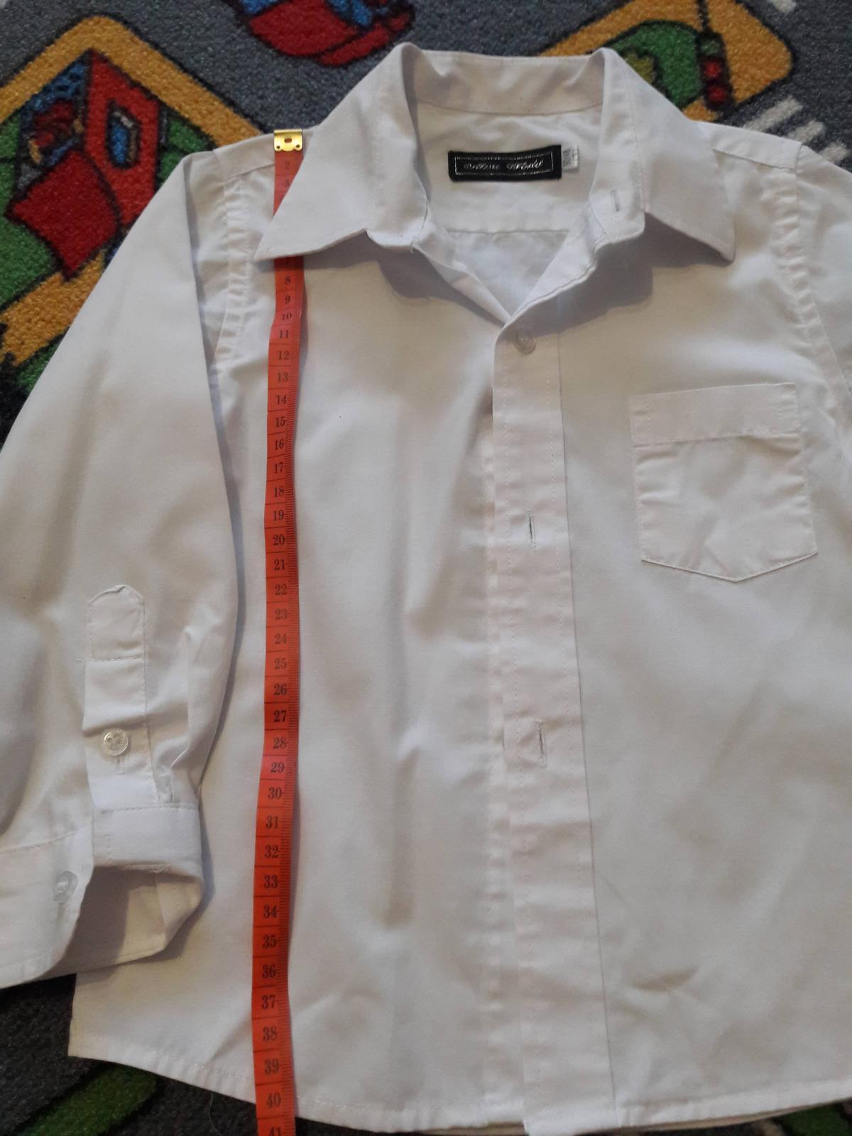 Košile - dětská -vel. cca 98 - 104 - Obrázek č. 1