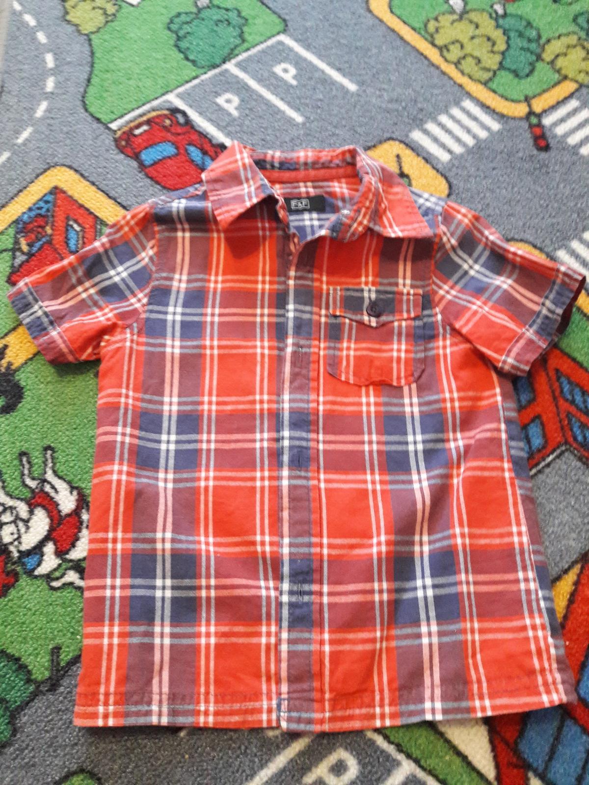 Košile - dětská -vel. cca 98 -104, F&F - Obrázek č. 2
