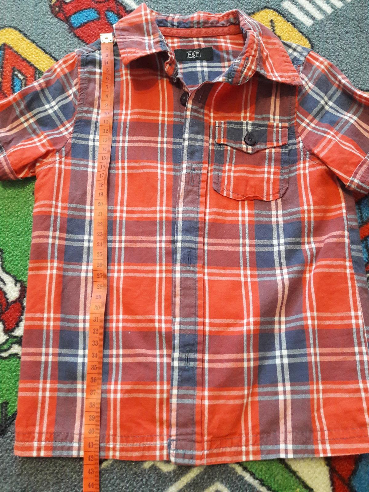 Košile - dětská -vel. cca 98 -104, F&F - Obrázek č. 3