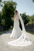 Svadobné šaty španielskej značky Pronovias, 36