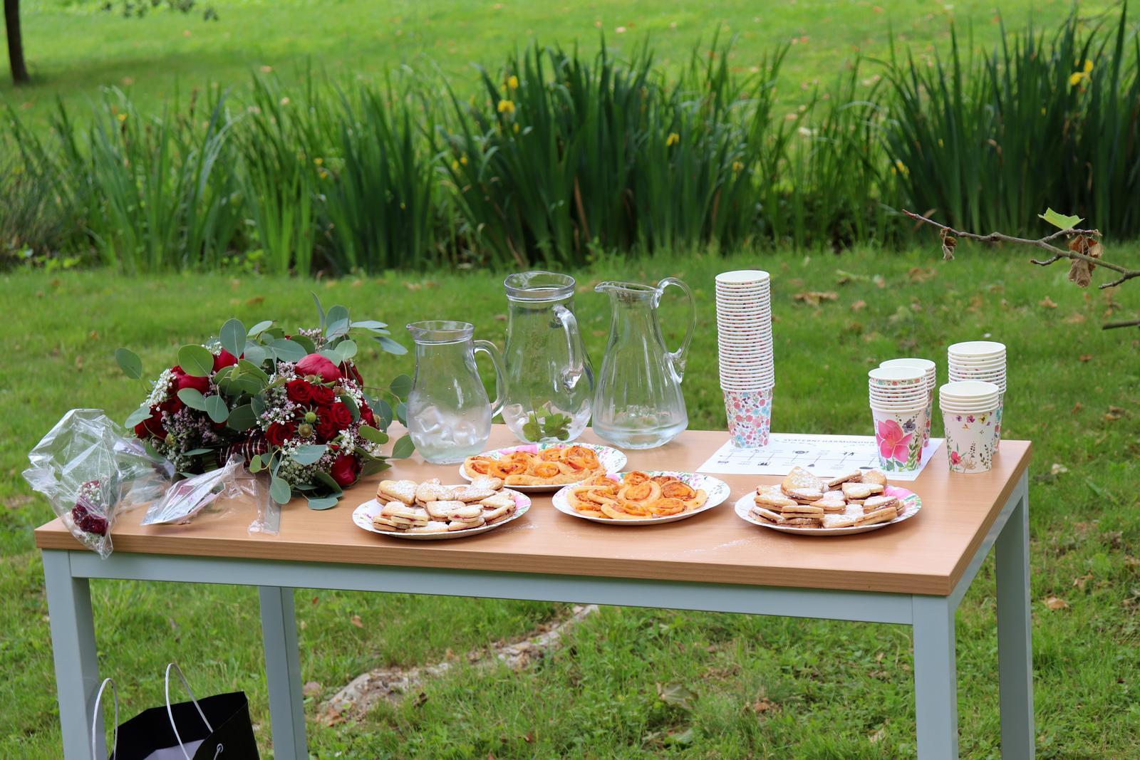 Petra Kolaříková{{_AND_}}Pavel Kolařík - malé občerstevní pro hosty na obřadu
