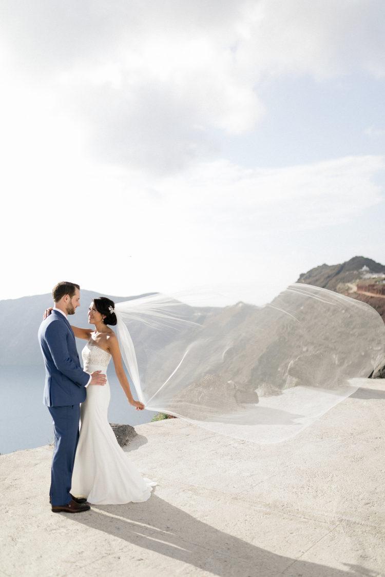 Reálná svatba na Santorini - Obrázek č. 1