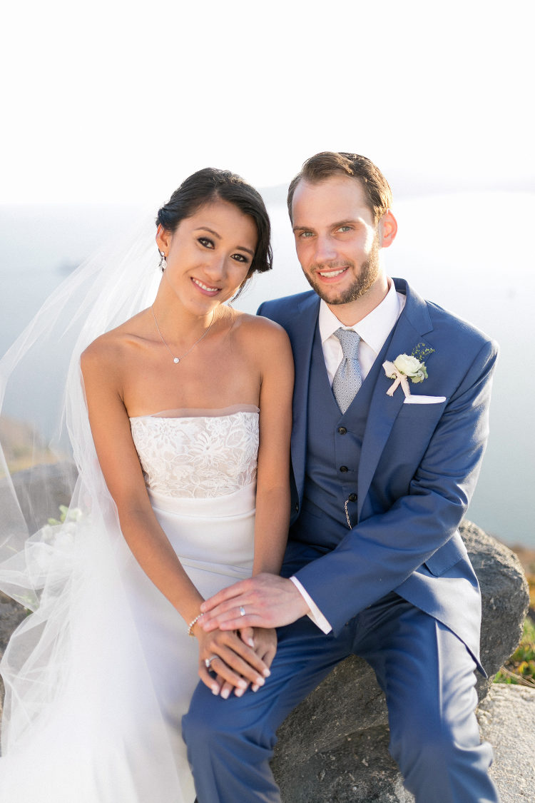 Reálná svatba na Santorini - Obrázek č. 2
