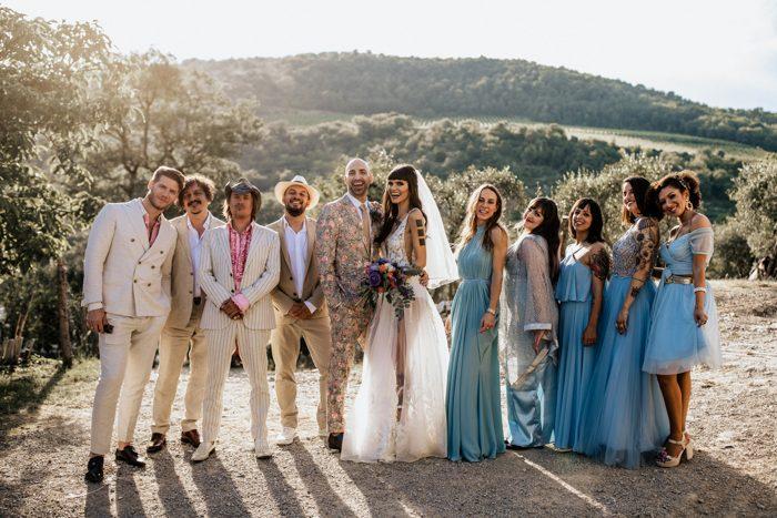Reálná toskánská svatba - Obrázek č. 26