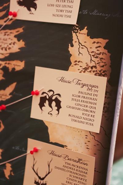 Inspirace na svatbu v style Game of Thrones - Obrázek č. 19