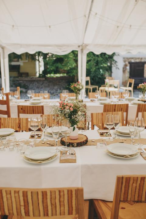 Výzdoba svatebních stolů nevěst z Bereme se - Obrázek č. 1