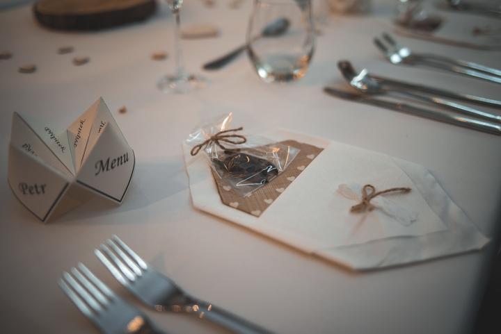 Výzdoba svatebních stolů nevěst z Bereme se - Obrázek č. 6