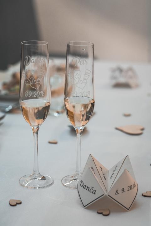 Výzdoba svatebních stolů nevěst z Bereme se - Obrázek č. 7