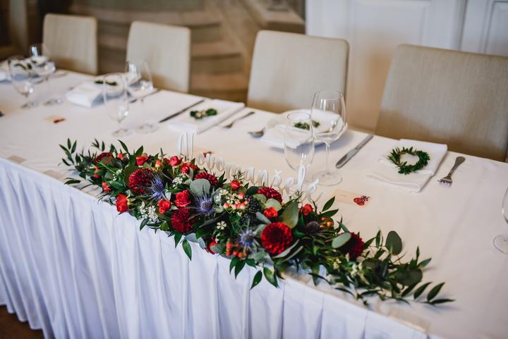 Výzdoba svatebních stolů nevěst z Bereme se - Obrázek č. 13