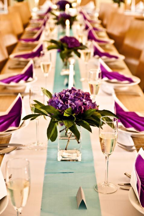 Výzdoba svatebních stolů nevěst z Bereme se - Obrázek č. 16