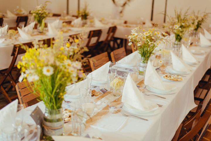 Výzdoba svatebních stolů nevěst z Bereme se - Obrázek č. 17