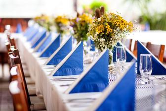 Výzdoba svatebních stolů nevěst z Bereme se - Obrázek č. 18