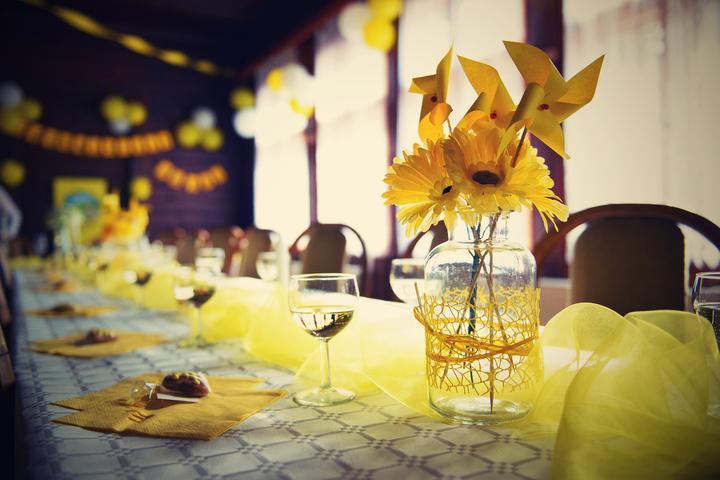 Výzdoba svatebních stolů nevěst z Bereme se - Obrázek č. 19