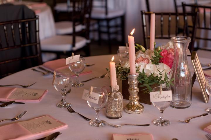 Výzdoba svatebních stolů nevěst z Bereme se - Obrázek č. 25