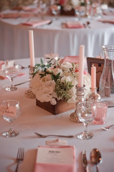 Výzdoba svatebních stolů nevěst z Bereme se - Obrázek č. 26