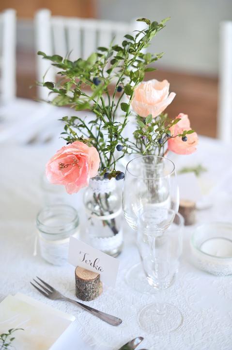 Výzdoba svatebních stolů nevěst z Bereme se - Obrázek č. 27