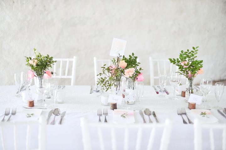Výzdoba svatebních stolů nevěst z Bereme se - Obrázek č. 28