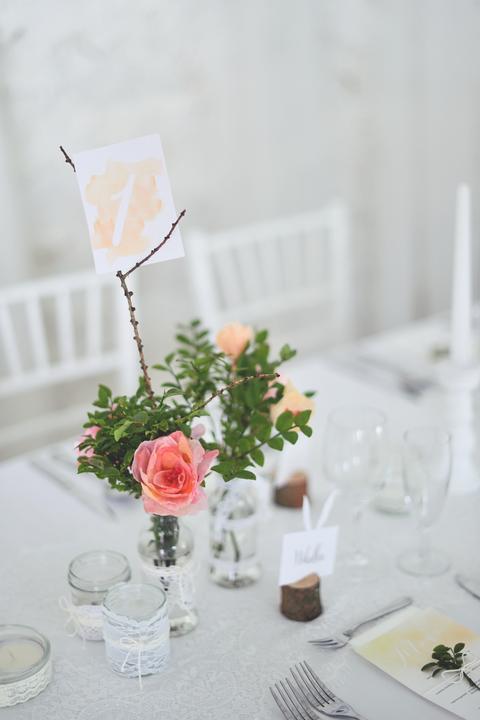Výzdoba svatebních stolů nevěst z Bereme se - Obrázek č. 29