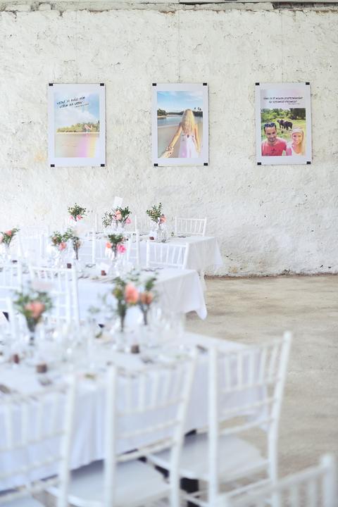 Výzdoba svatebních stolů nevěst z Bereme se - Obrázek č. 30