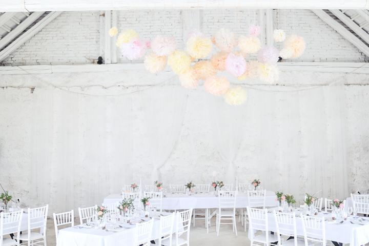 Výzdoba svatebních stolů nevěst z Bereme se - Obrázek č. 31