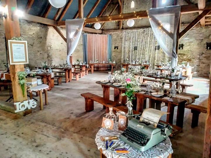 Výzdoba svatebních stolů nevěst z Bereme se - Obrázek č. 35