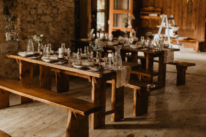 Výzdoba svatebních stolů nevěst z Bereme se - Obrázek č. 37