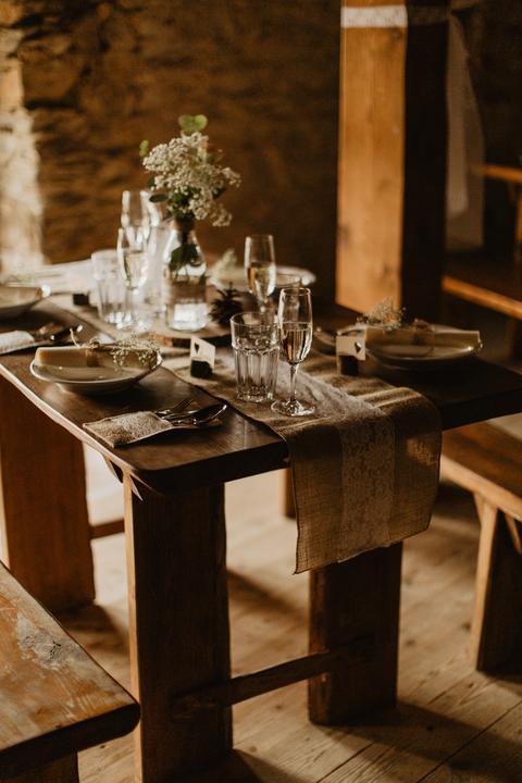 Výzdoba svatebních stolů nevěst z Bereme se - Obrázek č. 38