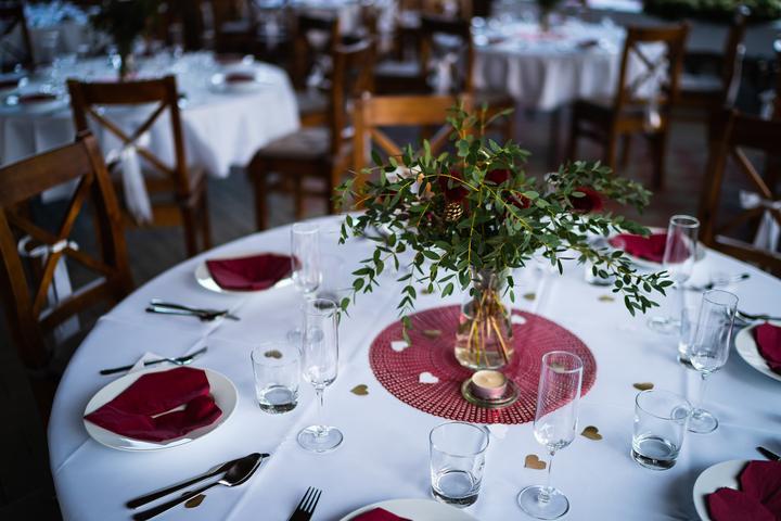 Výzdoba svatebních stolů nevěst z Bereme se - Obrázek č. 45