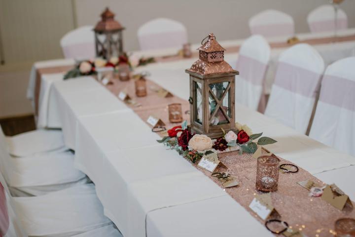 Výzdoba svatebních stolů nevěst z Bereme se - Obrázek č. 53