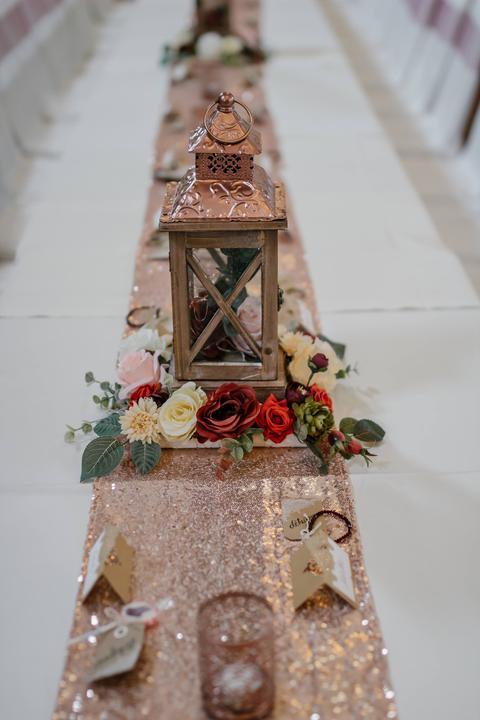 Výzdoba svatebních stolů nevěst z Bereme se - Obrázek č. 54