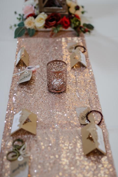 Výzdoba svatebních stolů nevěst z Bereme se - Obrázek č. 55