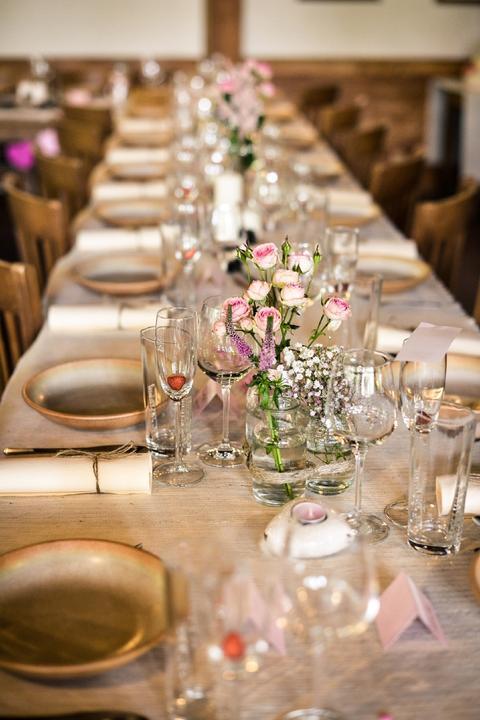 Výzdoba svatebních stolů nevěst z Bereme se - Obrázek č. 64
