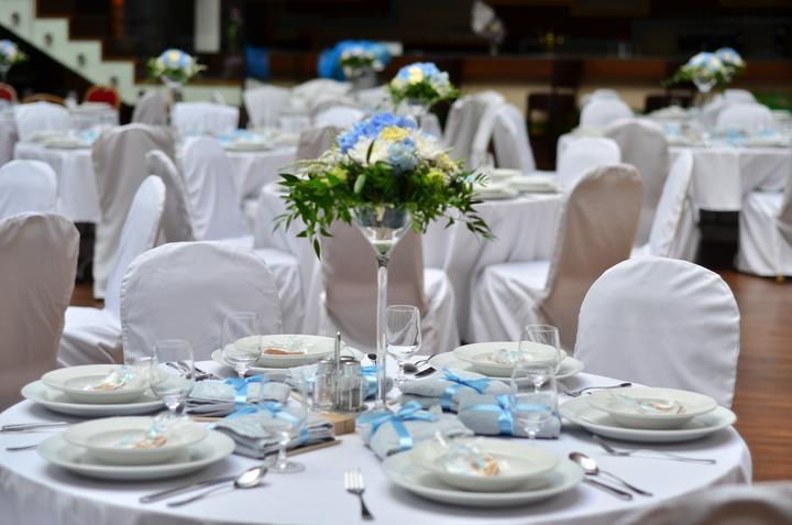 Výzdoba svatebních stolů nevěst z Bereme se - Obrázek č. 65