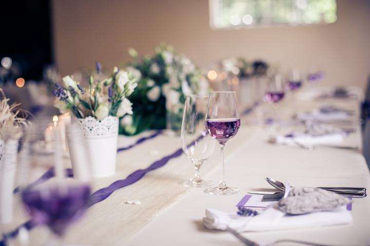 Výzdoba svatebních stolů nevěst z Bereme se - Obrázek č. 67