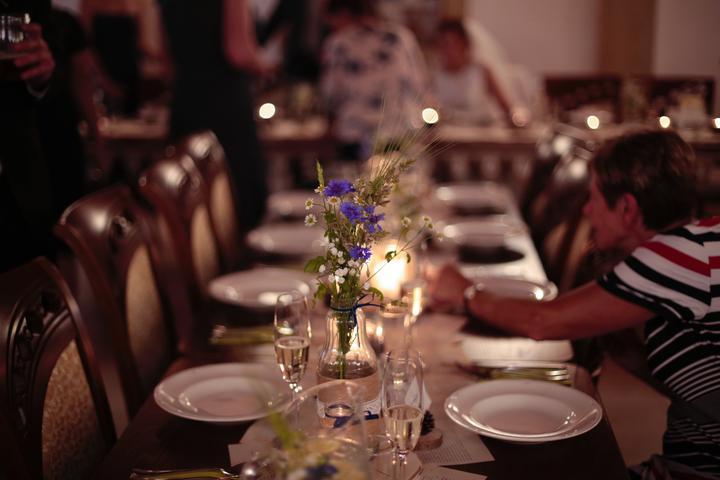 Výzdoba svatebních stolů nevěst z Bereme se - Obrázek č. 75