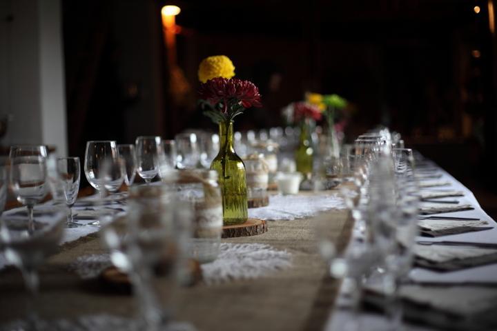 Výzdoba svatebních stolů nevěst z Bereme se - Obrázek č. 78
