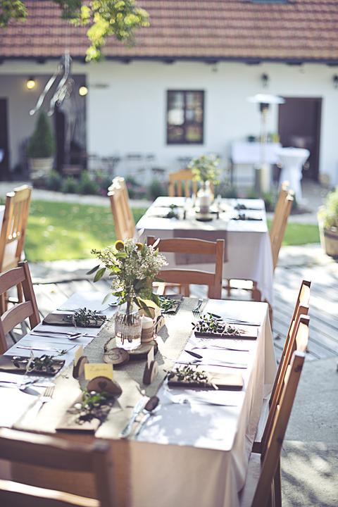 Výzdoba svatebních stolů nevěst z Bereme se - Obrázek č. 79