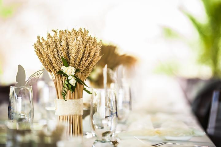 Výzdoba svatebních stolů nevěst z Bereme se - Obrázek č. 87