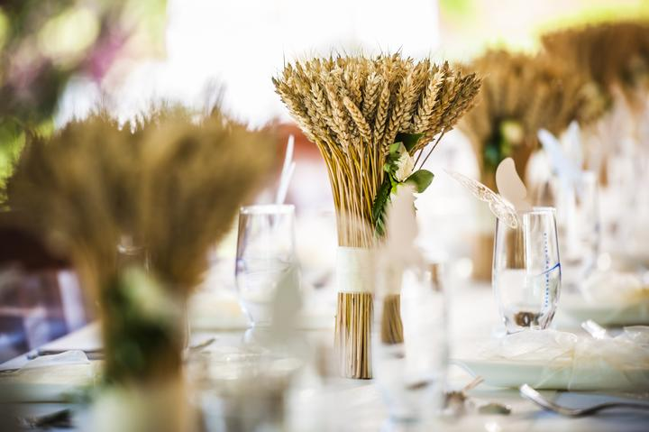Výzdoba svatebních stolů nevěst z Bereme se - Obrázek č. 88