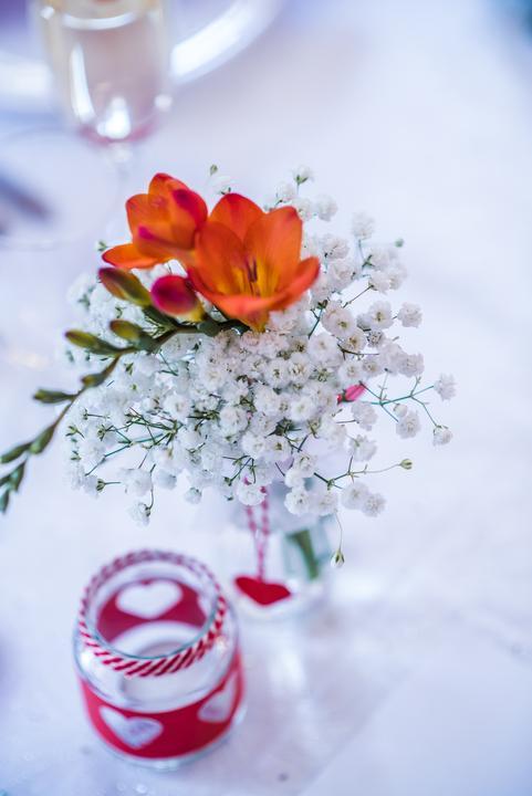Výzdoba svatebních stolů nevěst z Bereme se - Obrázek č. 98